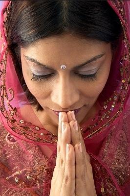 Namaste, un Saludo Diferente